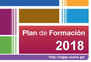 Publicado o plan de formación da EGAP para o ano 2018